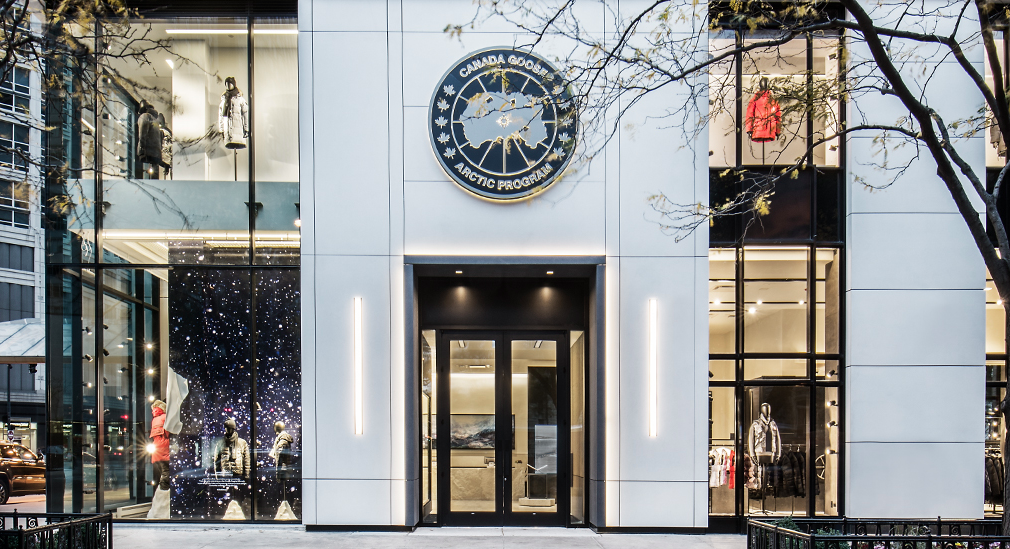 (Canada goose flagship store in Chicago. Photo: Canada Goose)