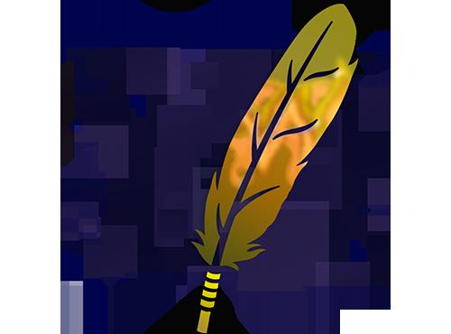 Colour-Shifting Eagle Feather