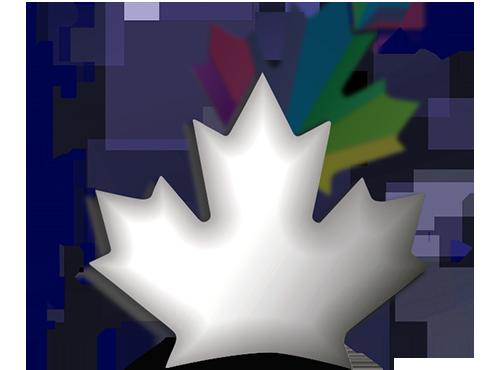 3D Maple Leaf