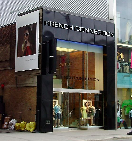 11 Bloor Street west in Toronto, prior to closure. Photo via Wikipedia