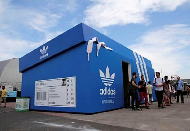 Adidas  Pop-Up Store in London. Photo: Global Toy News