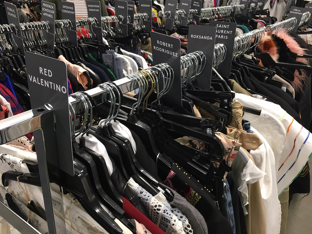 Women's Designer brands -- an impressive assortment.