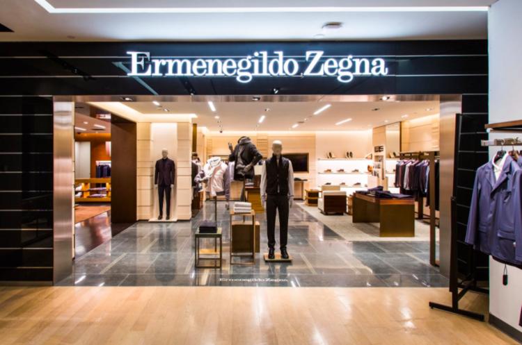 Zegna shop-in-store at Harry Rosen, 82 Bloor St. West. Photo: Harry Rosen