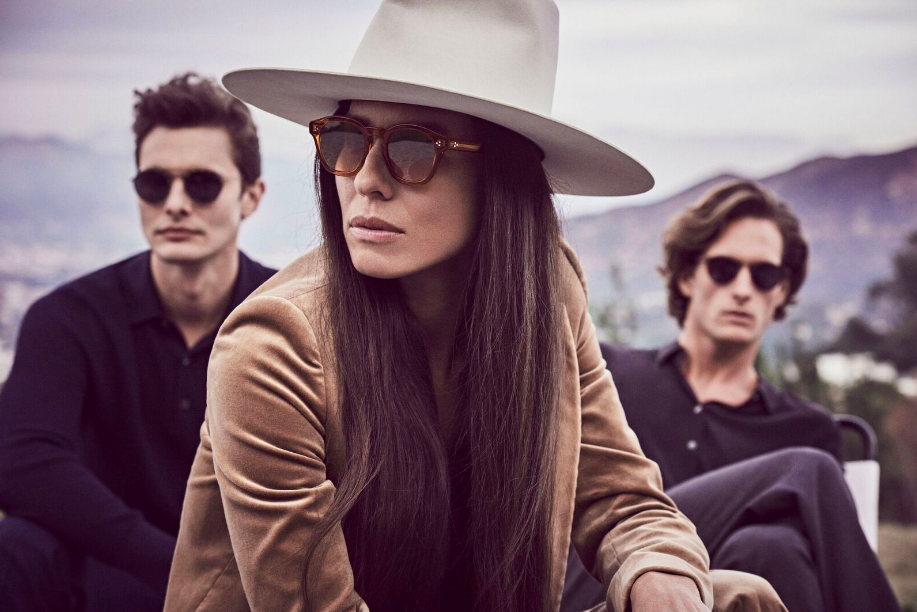"""Oliver Peoples 2018 Campaign – """"In Conversation"""" -- photo via Oliver Peoples"""
