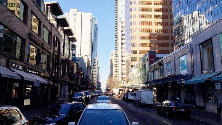 Alberni Street in Vancouver. Photo: Lee Rivett