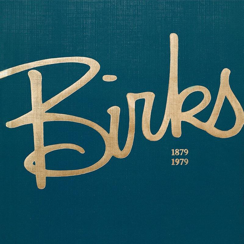 100th year anniversary Catalogue. Photo: Birks