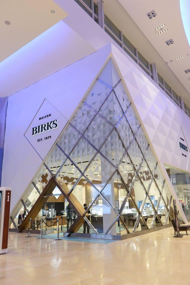Yorkdale Shopping Centre Location (Toronto). Photo: Birks