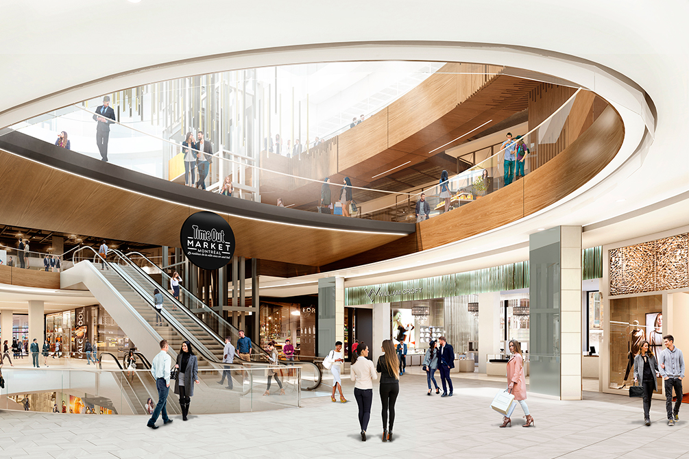 Oculus.Rendering: Time Out/Ivanhoé Cambridge.