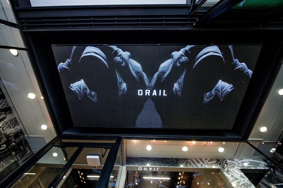 LED ceiling. Photo: Grail