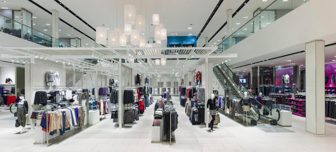 Galeries d'Anjou store in Montreal. Photo: Marc Cramer
