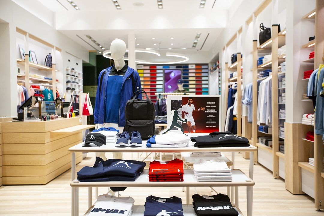 sneakers for cheap 708c7 bb383 Lacoste Launches New Global Concept Store Design in Canada