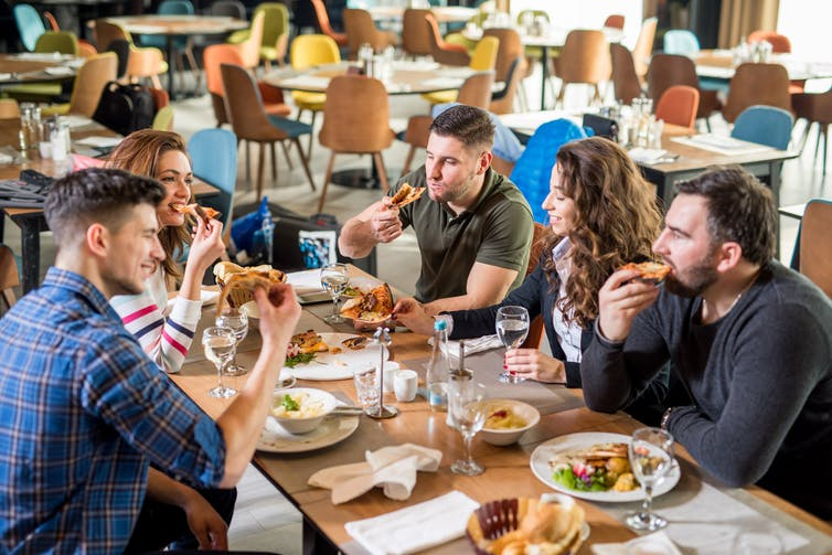Canadians are spending an ever-increasing portion of their food dollars in restaurants. (Shutterstock)