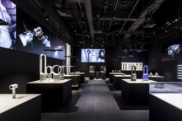 Dyson Store at Yorkdale Shopping Centre. Photo: Dyson