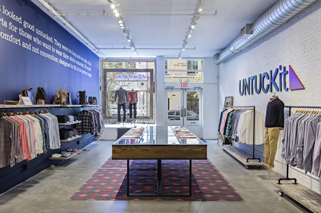 New York Soho Location. Photo: UNTUCKIT