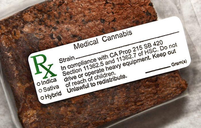 Edible Packaging/Labelling. Photo:  LeafBuyer