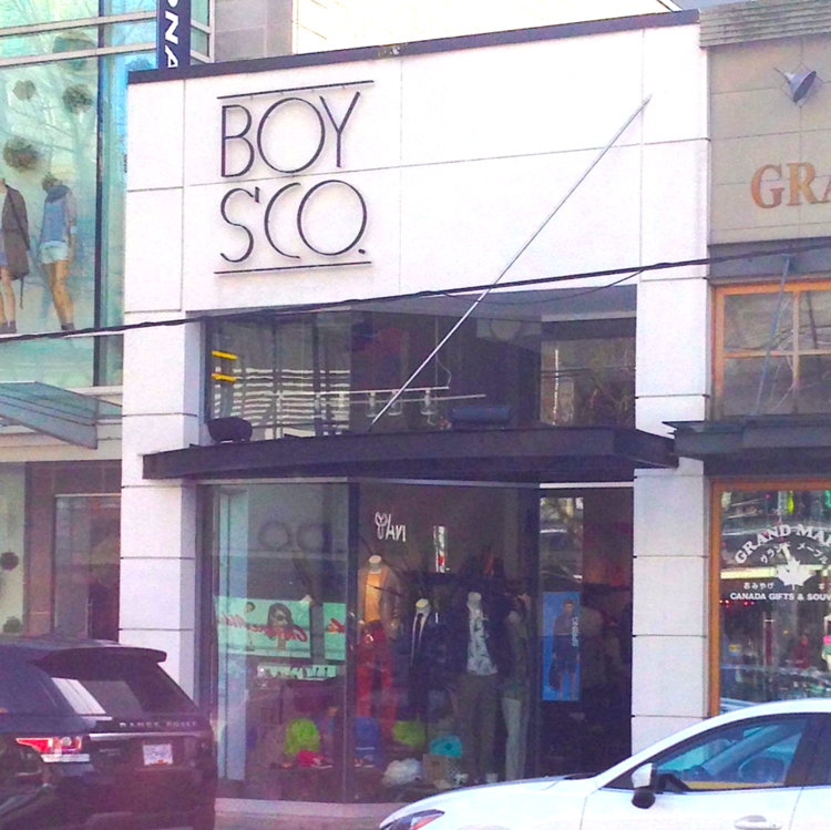 Robson Street Store in 2014. Photo: Colin Arber