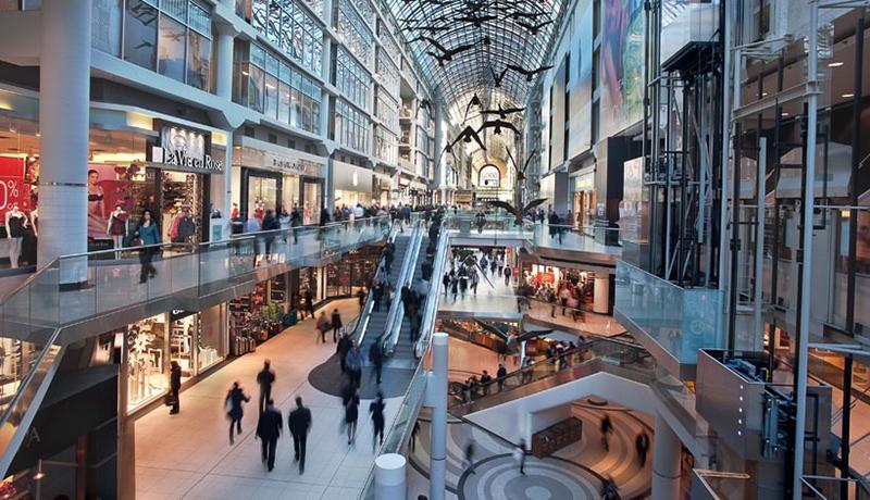 CF Toronto Eaton Centre,Photo: Cadillac Fairview Corporation Limited