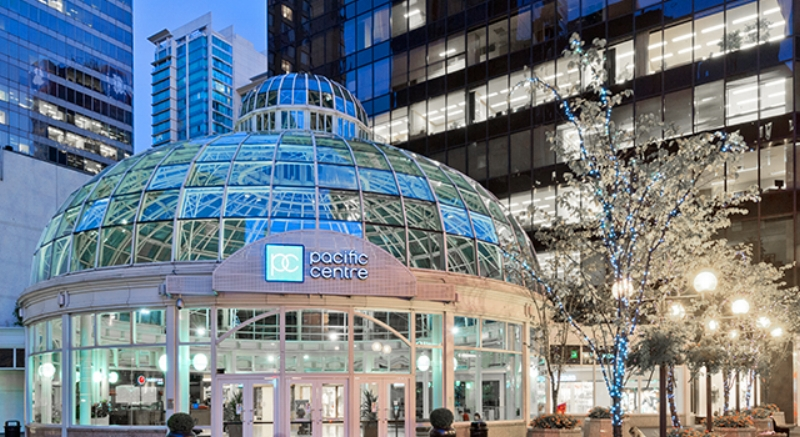 Above and below: CF Pacific Centre