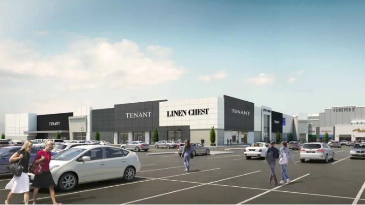 Mic Mac Mall includes Linen Chest Concept Store. Rendering:Ivanhoe Cambridge