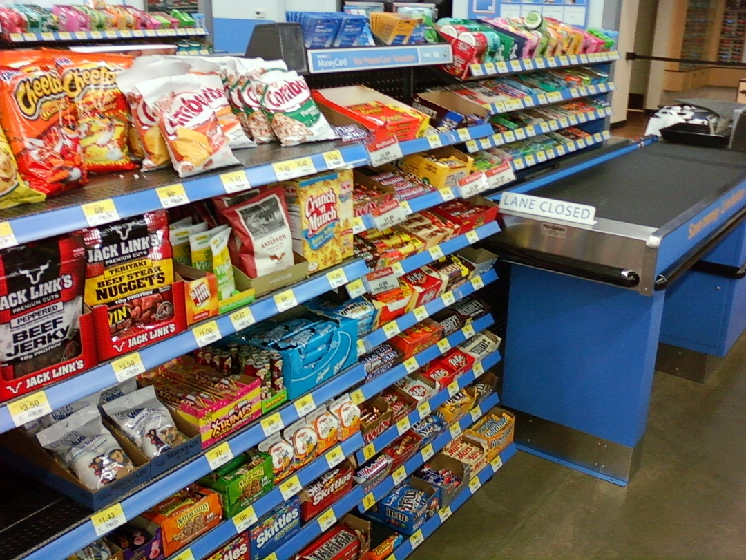 Temptation while waiting in checkout Line. Photo:    Crane