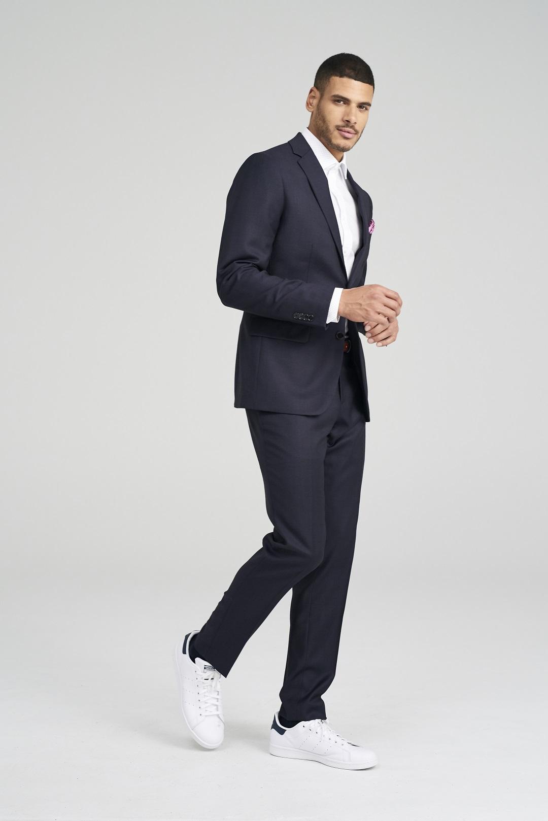 Malvern Burgundy Suit