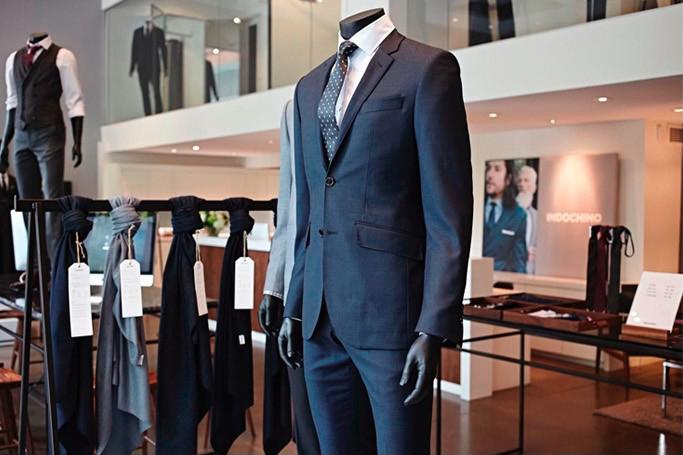 Toronto Showroom. Photo:  Indochino