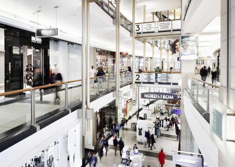 Shops at North Bridge. Photo:    The Magnificent Mile