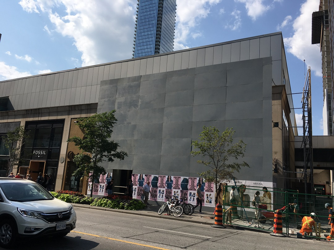 Aritzia at the Holt Renfrew Centre is expanding to become one of its largest stores. Photo: Craig Patterson