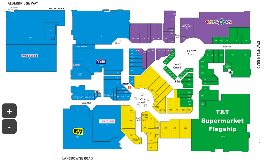 Click for interactive mall floor plan