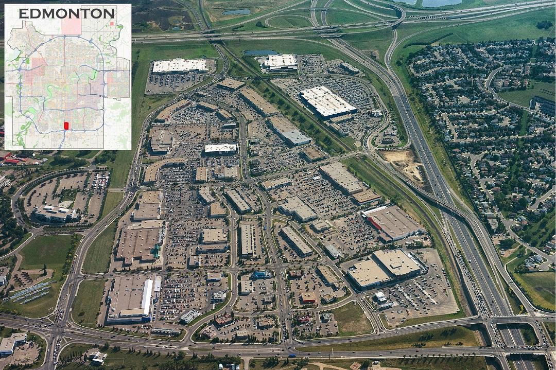 South Edmonton Common map (2018)