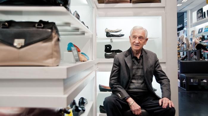 Town Shoes founder Leonard Simpson