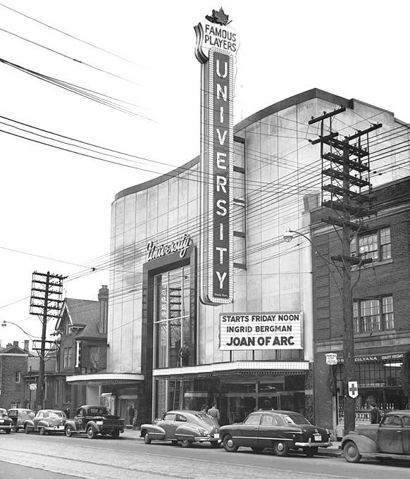 Historical photo of the former 'university theature'. Image:  Gensler .