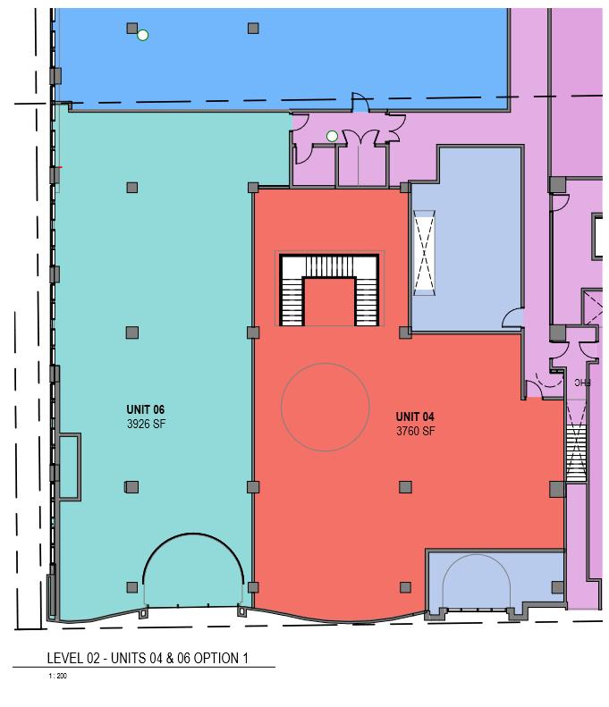 Potential second level configuration. Image:  Gensler .