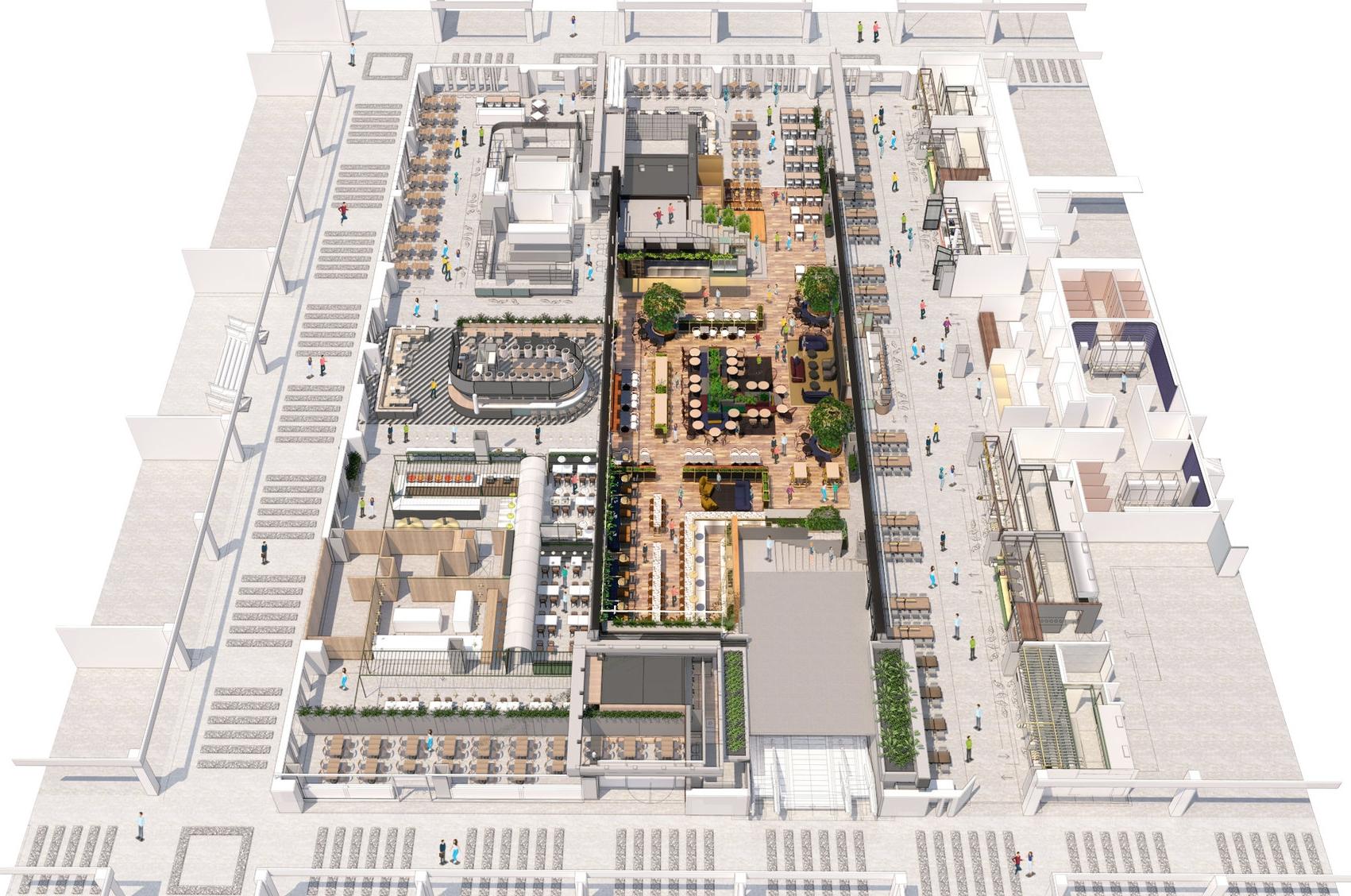 Anticipated Floorplan.   Rendering:  Sid Lee Architecture/Supplied