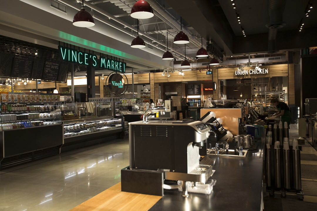 Vince's Market and Market & Co space