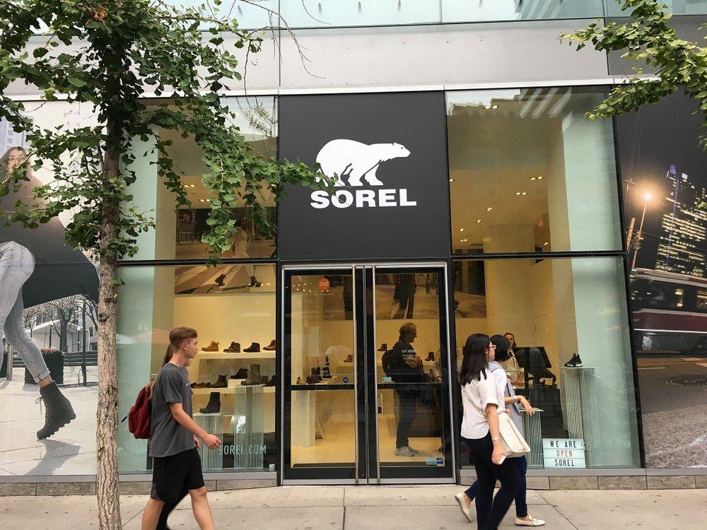 spotgoedkoop Britse winkel online Canadian Footwear Brand 'Sorel' Opens 1st Standalone Retail ...