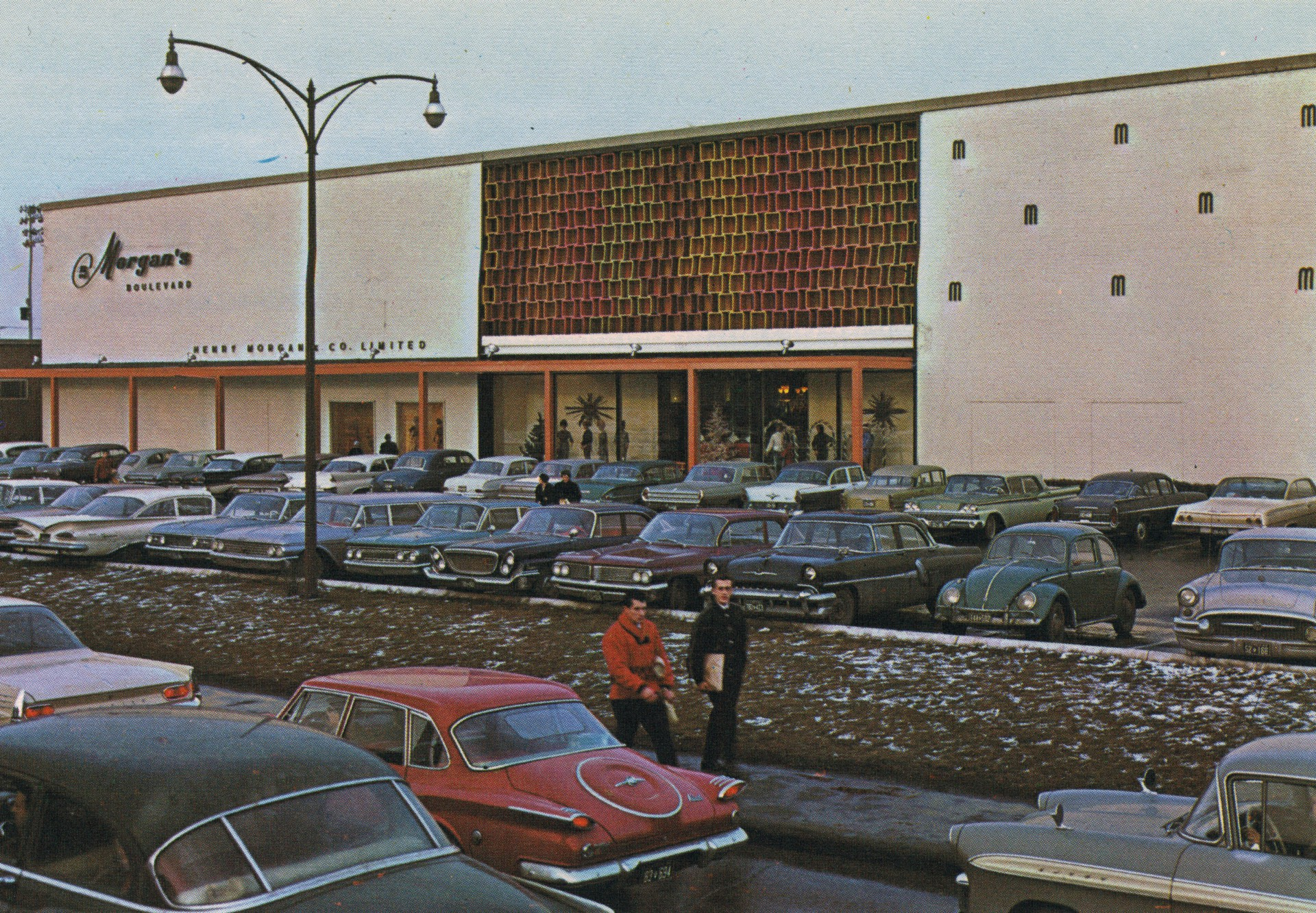 Morgan's department store at Le Centre Boulevard in Montreal. Photo: HBC Archives.