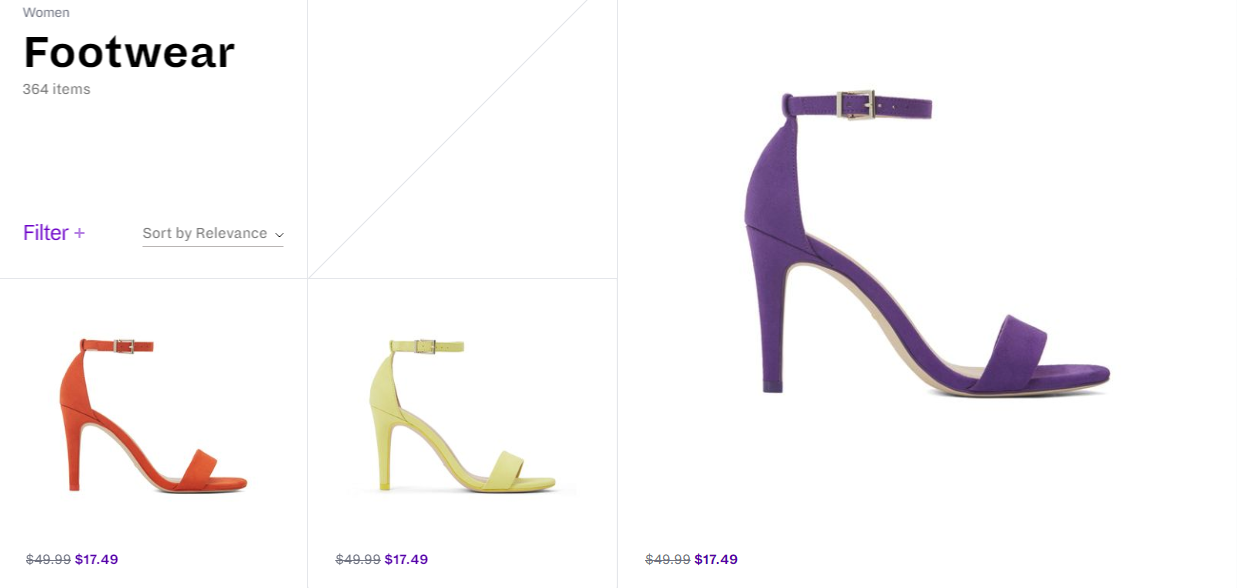 Women footwear. Photo: Call It Spring Website
