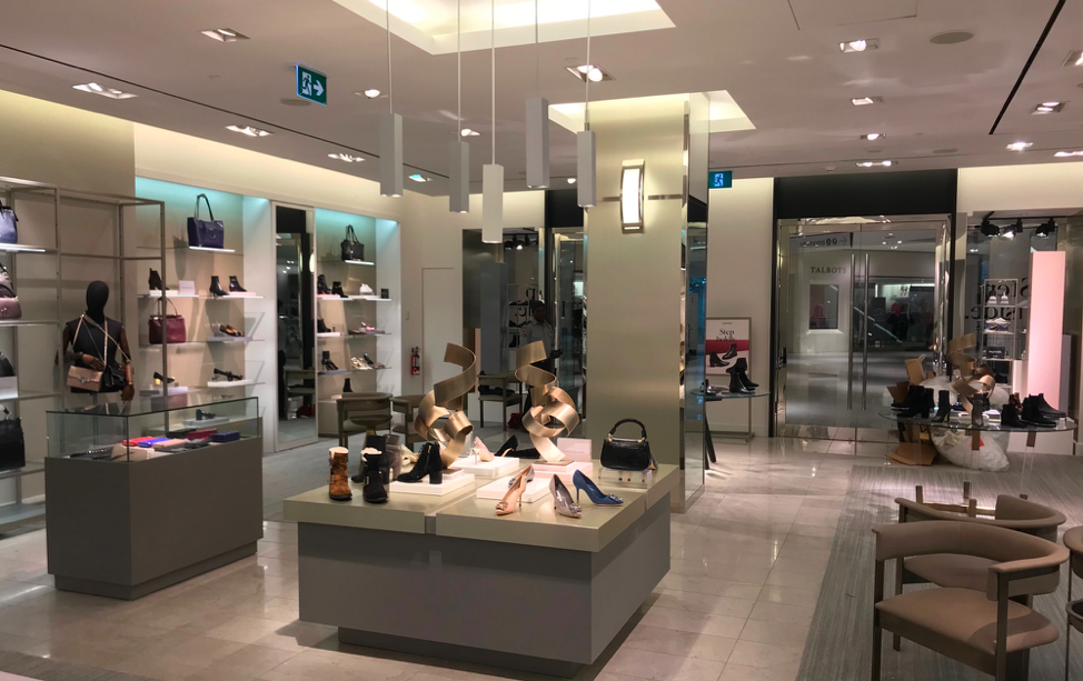 Inside the CF Rideau Centre store. Photo: Davids Footwear