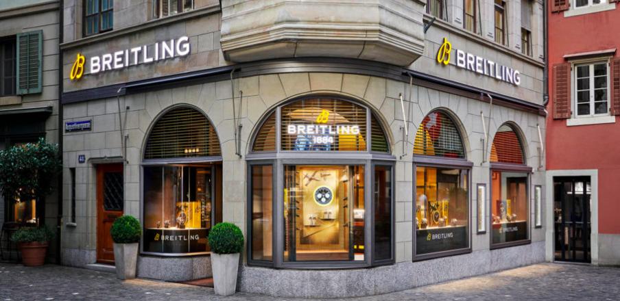 Breitling Boutique Zurich Location