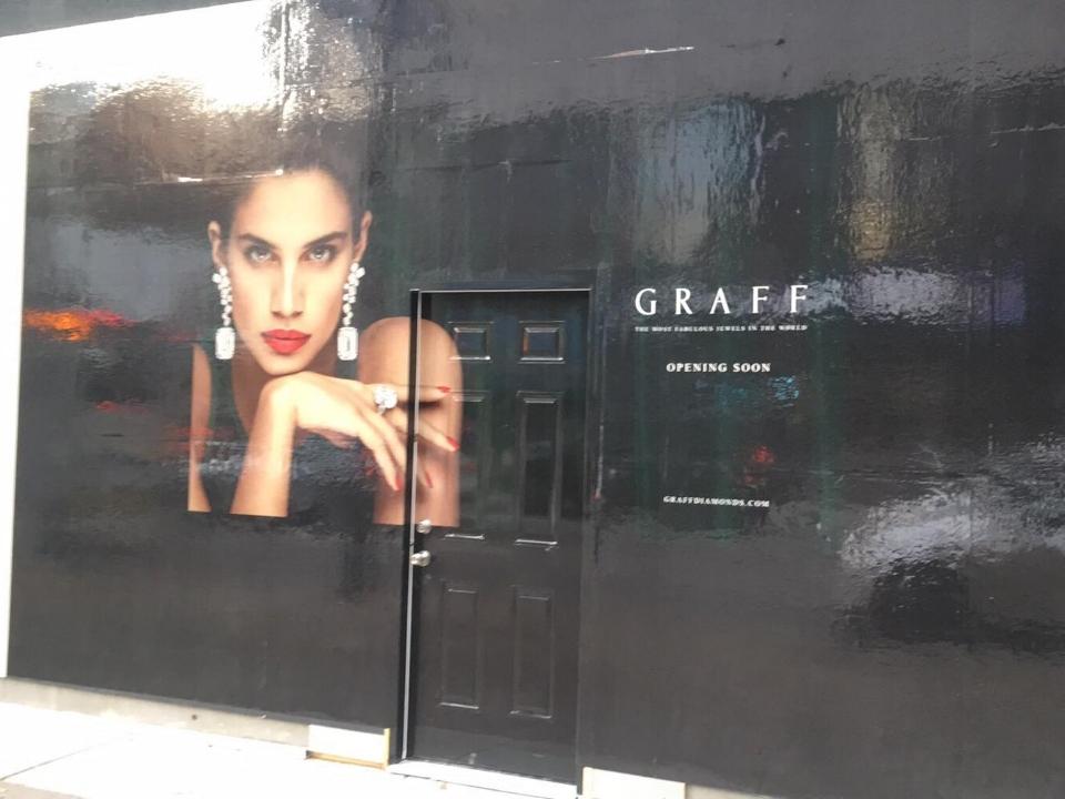 Graff Construction Signage. Photo: Lee rivett