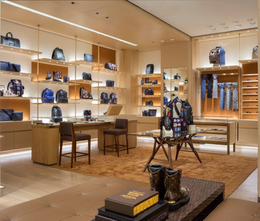 CHINOOK CENTRE location interior. PHOTO: COURTESY OF LOUIS VUITTON / PAUL WARCHOL