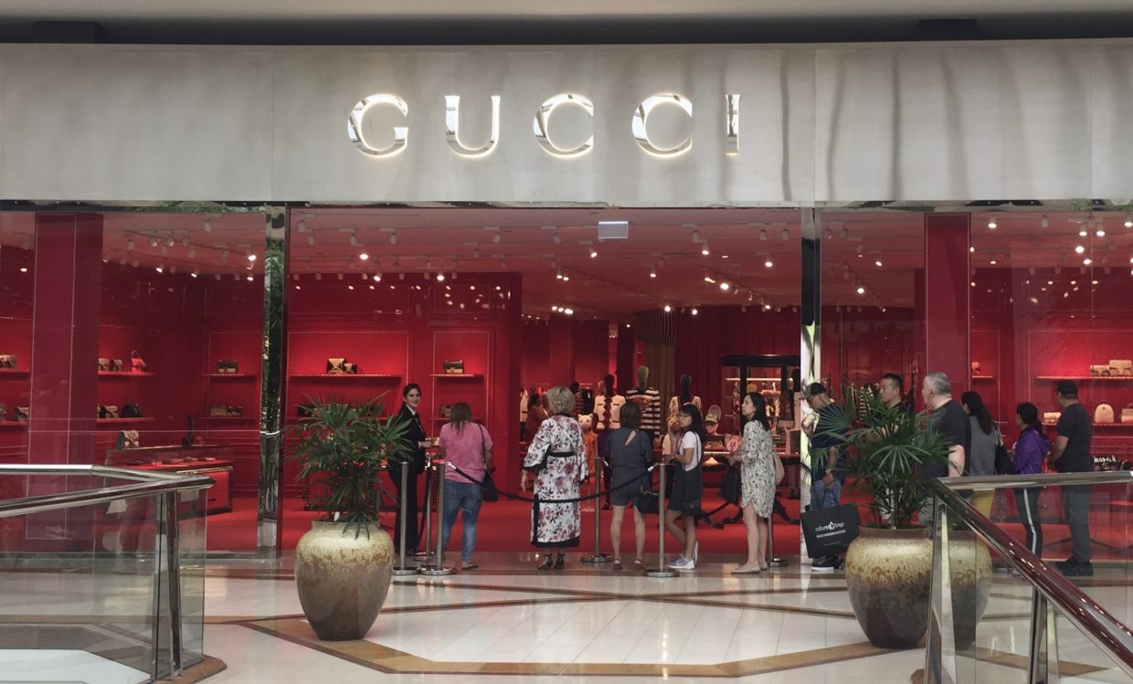The Gucci Store at Chadstone Shopping Center in Melbourne. Photo:    Jing Daily/Jennifer Spark