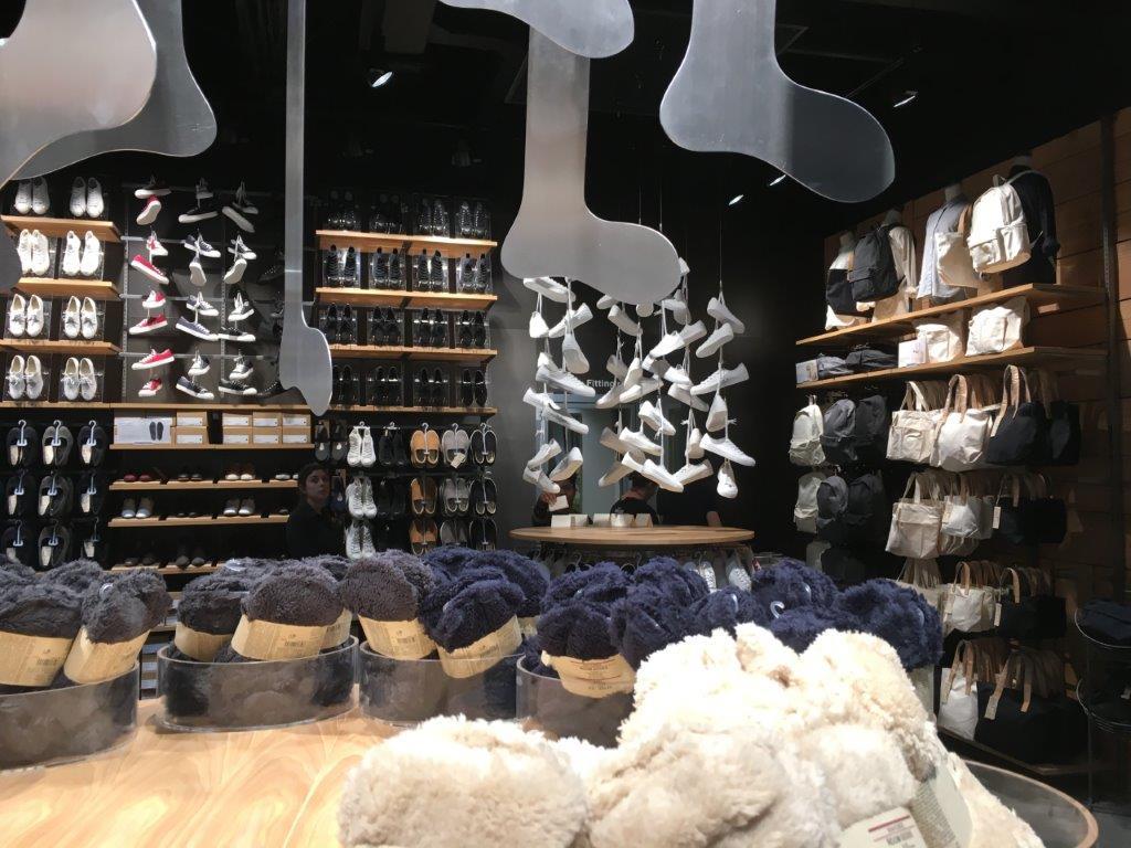 SLIDESHOW: Muji Yonge-Dundas Square (Toronto) -- footwear and accessories, ground floor