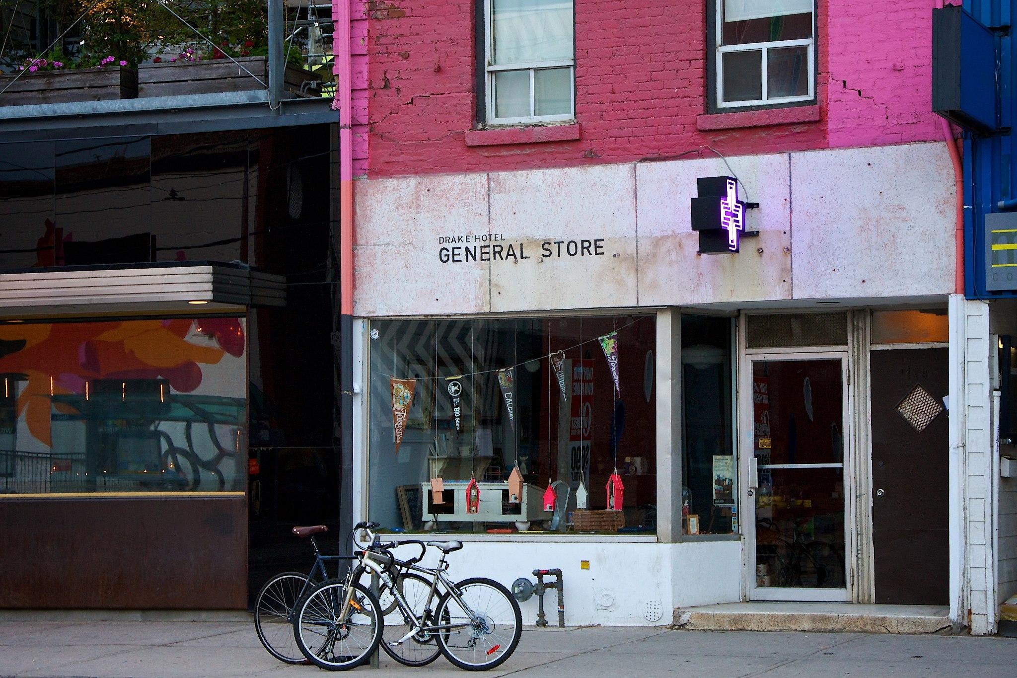 Original Store Location on Yonge. Photo: Drake General Store Facebook
