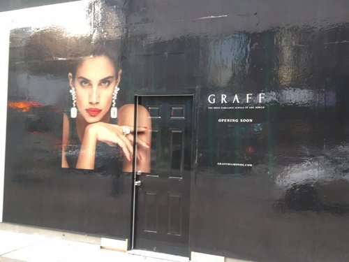 GRAFF CONSTRUCTION SIGNAGE in vancouver. PHOTO: LEE RIVETT