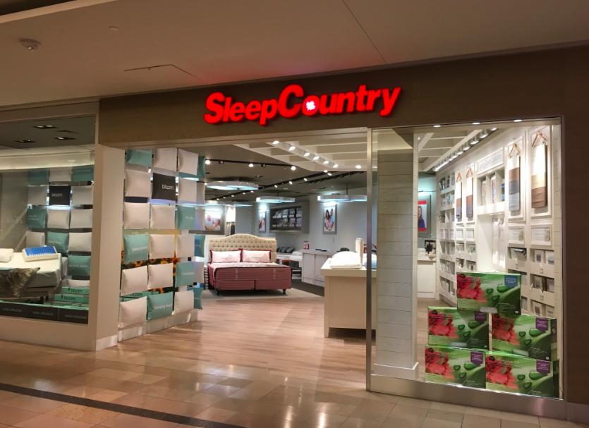 Sleep Country at CF Sherway Gardens in Toronto. Photo: Craig Patterson