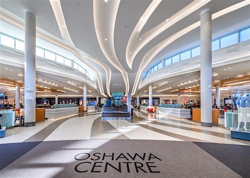 Oshawa Centre, east of Toronto. Photo: Ivanhoé Cambridge