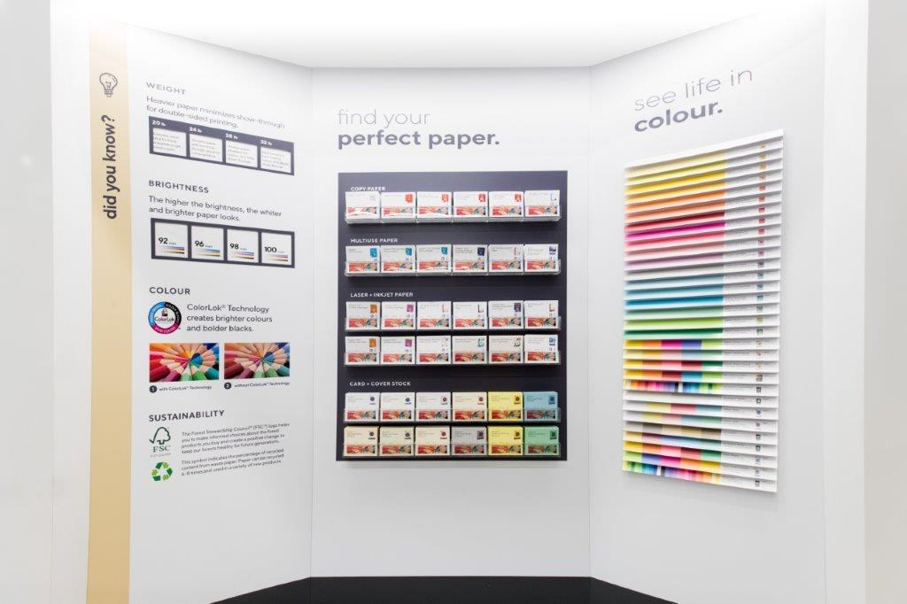 Paper area. Photo: Sarjoun Faour