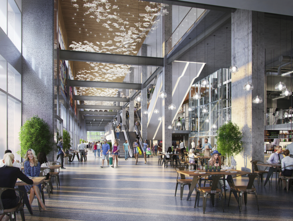 Interior of 'The Post' Rendering: Quadreal